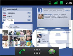 โฉมหน้า Facebook Phone อยากได้กันหรือยัง