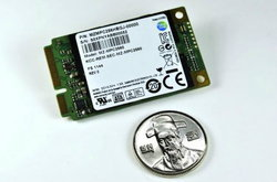 Samsung PM830 หน่วยความจำ SSD แบบ mSATA