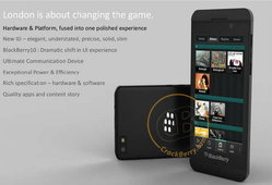 BlackBerry London ว่าที่สมาร์ตโฟนรุ่นต่อไปของ BlackBerry