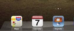 ถอดรหัสไอคอนในภาพ iPad 3