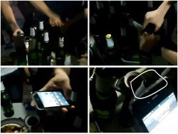 เด็กจีนโชว์พลัง iPhone งัดเปิดฝาขวดเบียร์แก้ขัด!