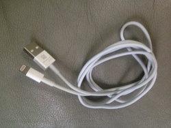 หลุดภาพสาย USB แบบใหม่ ยืนยัน Dock connector บน ไอโฟน 5 (iPhone 5) เล็กลงจริง