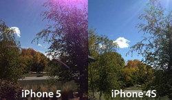 """ปัญหา""""แสงฟุ้งสีม่วง"""" iPhone 5 แก้ได้"""