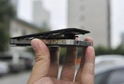 iPhone 4 ระเบิดอีกแล้ว รอบนี้เกิดขึ้นที่จีน