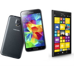"Samsung Galaxy S5 มี ""อาย"" เพราะ Nokia Lumia 1520"