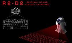 น่ารักอ้ะ! คีย์บอร์ดเสมือนรูปหุ่นยนต์ R2-D2 จาก Starwars!!