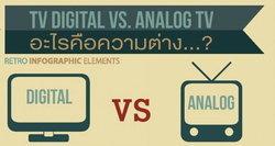 Digital TV vs. Analog อะไรคือความแตกต่าง?