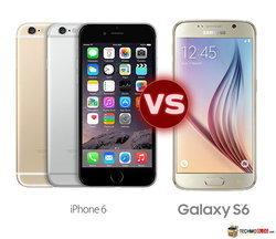 เปรียบเทียบสเปค Samsung Galaxy S6 vs iPhone 6 รุ่นไหน สเปคดีกว่ากัน