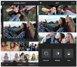 Instagram ทำแอป Layout รวมภาพไว้ในกรอบเดียว