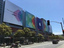 Apple เริ่มตกแต่งขึ้นป้ายงาน WWDC 2015 แล้ว คาดเผยโฉม iOS 9