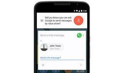 Google Now เพิ่มคำสั่งเสียงไปยัง WhatsApps, Viber และ WeChat