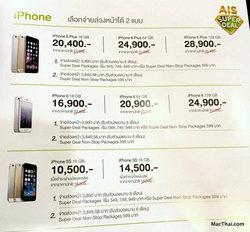 สรุปโปรโมชันลดราคา iPhone, iPad ของ AIS ในงาน Mobile Expo 2015