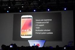 Google I/O : เปิดตัว Galaxy S4 Nexus
