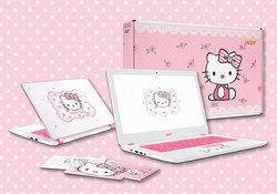 Acer Aspire V3 รุ่นพิเศษลาย Hello Kitty พร้อมขายในไทยจำกัดแค่ 300 เครื่อง!