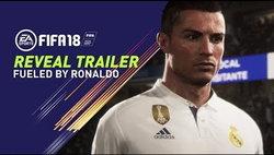 เปิดตัวเกม FIFA 18 ที่มาพร้อมกับ คริสเตียโน โรนัลโด้