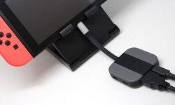 ชมภาพชัดๆ อุปกรณ์เชื่อมต่อกับทีวีแบบพกพาของ Nintendo Switch ฉบับแฟนๆทำเอง