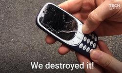 Nokia 3310 (2017) ทายาทมือถือในตำนานถูกจับทดสอบความแกร่งสุดโหดด้วยการโยนจากตึก 4 ชั้น