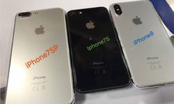มาแล้วภาพชัดๆ iPhone 8 Vs iPhone 7S และ 7s Plus