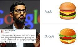 ซีอีโอ Google สั่งทีมงานรีบแก้ emoji รูปเบอร์เกอร์ หลังวางชีสผิดตำแหน่ง
