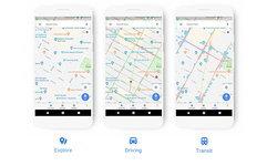 Google Maps เผยโฉมใหม่เลือกใช้สีที่อ่อนและเปลี่ยนชุด icon ใหม่ น่าใช้กว่าเดิม