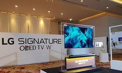 สัมผัสแรกของ LG W7T สมาร์ททีวีบางจนเป็นส่วนหนึ่งกับผนังบ้านคุณ