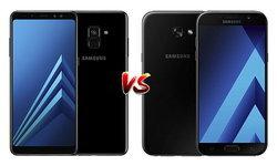 เปรียบเทียบ Samsung Galaxy A8+ (2018) และ A7 (2017) สองสมาร์ทโฟนรุ่นท็อปในซีรีส์ A