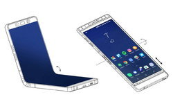 CES 2018 : Samsung ซุ่มเปิดตัว Galaxy X (สมาร์ทโฟนหน้าจอพับได้) รุ่นต้นแบบ