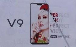 หลุดภาพโฆษณา Vivo V9 มาพร้อมรอยบากอีกหนึ่งรุ่น