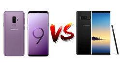 เปรียบเทียบสเปค Samsung Galaxy S9+ VS Samsung Galaxy Note 8 จะเลือกตัวไหนดี