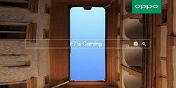 Oppo F7 จะมี 2 รุ่นคือ F7 และ F7 Youth พร้อมด้วยกล้องหน้า 25 ล้านพิกเซล