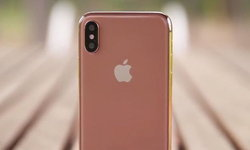 สีใหม่? ภาพหลุด iPhone X ตัวเครื่องสี 'Blush Gold'
