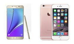 เทียบสเปคของ Samsung Galaxy Note 5 VS iPhone 6s Plus ว่าใครจะดีกว่ากัน