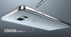 Samsung Galaxy Note 6 อาจเป็นสมาร์ทโฟนรุ่นแรกที่ใช้หน่วยความจำ 256GB