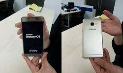 เผยภาพจริงอีกครั้งของ Samsung Galaxy C5 บอดี้โลหะสเปคจัดเต็ม