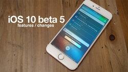 แอปเปิล ปล่อยอัปเดต iOS 10 beta 5 สำหรับนักพัฒนาแล้ว มีอะไรเปลี่ยนไปบ้าง มาดูกัน!