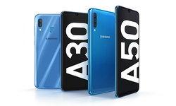 """เปิดตัวแล้ว """"Samsung Galaxy A50"""" และ """"A30"""" มือถือระดับกลาง สเปคคุ้มค่า ราคาต้องลุ้น"""