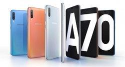 เปิดตัวแล้ว Samsung Galaxy A70  จอยาวพิเศษ 6.7 นิ้ว กล้องหน้าหลัง 32 ล้านพิกเซล