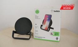 """รีวิว """"Belkin BoostUp Wireless Stand 10W"""" แท่นชาร์จไฟไร้สาย พลังแรง วางตั้งหรือนอนก็ได้"""