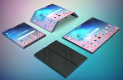 Samsung กำลังพัฒนาหน้าจอที่สามารถพับได้สองมุม!