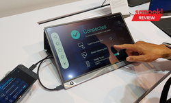 Comptex 2019 : ASUS เปิดตัว Zenscreen Touch หน้าจอไร้สายใช้ได้นาน และเสียงดีงาม
