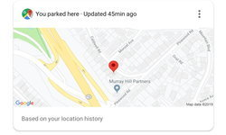 Google Assistant เพิ่มฟีเจอร์สำหรับคนขี้ลืมที่จอดรถ ถามว่ารถเราจอดที่ไหนก็ได้