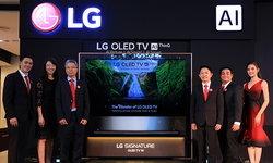แอลจีเปิดโลกอัศจรรย์แห่งเทคโนโลยี AI ผ่านทีวีรุ่นใหม่ W9 Series