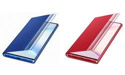 ชมภาพใหม่ของเคส Samsung Galaxy Note 10 ที่จะมาพร้อมกับสี Aura Red และ Aura Blue