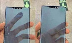 เผยภาพกระจกกันรอยของHuawei Mate 30 Pro ยังคงมีติ่งด้านบนแต่เล็กลงกว่าเดิม
