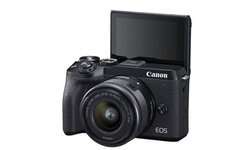 "Canon เปิดตัว EOS M6 Mark II อัปเกรดสเปก ""คุณภาพระดับ DSLR ในขนาดกระทัดรัด"""