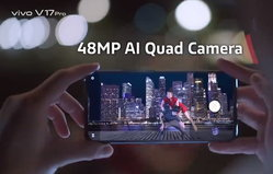 หลุดเพิ่ม! วิดีโอโปรโมท Vivo V17 Pro มาพร้อมกล้องหน้าเซลฟี่คู่แบบ Pop-Up