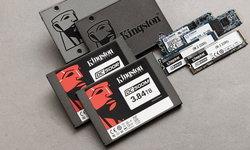คิงส์ตันเทคโนโลยีจัดส่ง SSD 13.3 ล้านชิ้นในครึ่งแรกของปี 2562