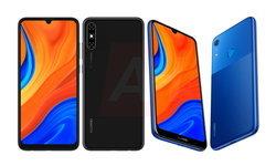 เผยภาพ Huawei Y6s น้องเล็กสีสันสดใส ดีไซน์ตัวเครื่องด้านหลังทูโทน