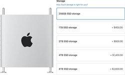 Apple เพิ่มตัวเลือกความจุ Mac Pro เป็น 8TB ราคา 104,000 บาท