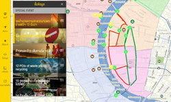 NOSTRA MAPจัดทำแผนที่ฟรีเพื่ออำนวยความสะดวกประชาชนเข้าร่วมพระราชพิธีบรมราชาภิเษก